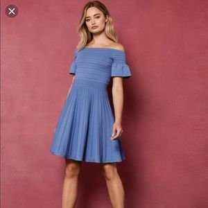 Gorgeous blue ted baker dress size 1